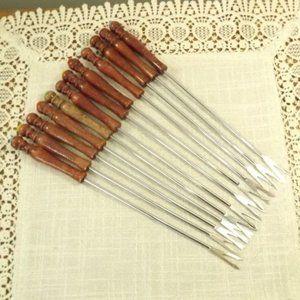 12 Vintage Long Stem Fondue Forks-Bundle Add On